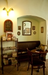 Inside the tea house CHA in Ljubljana