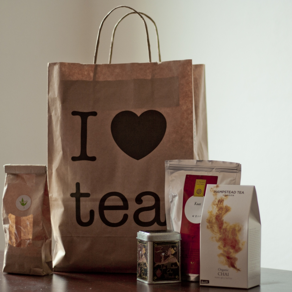 Time for tea shopping!