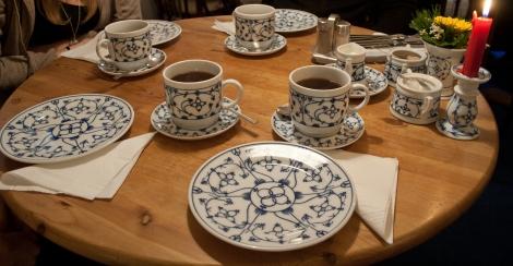 East Frisian tea served in unique design cups