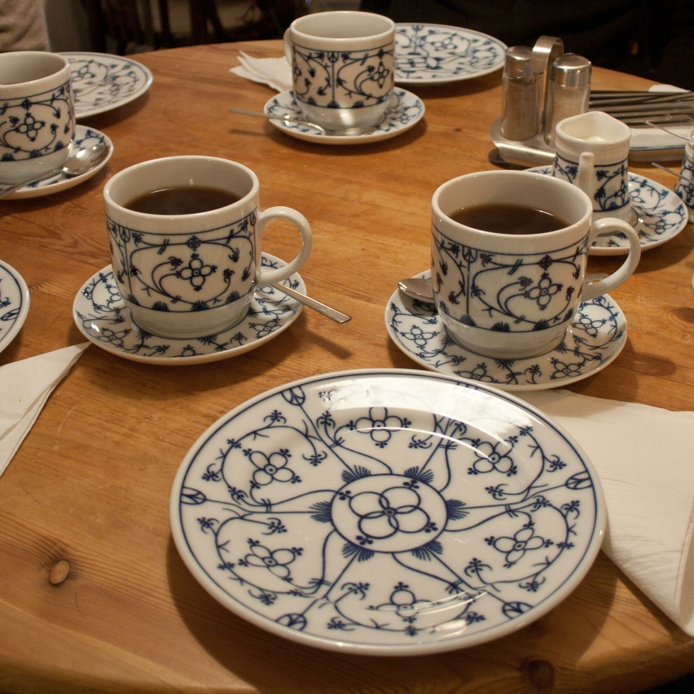 East Frisian tea served in unique design cups