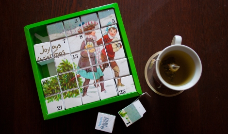 My first cup of tea from the advent calendar. 24 more to go!