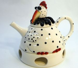 Rooster Tea Pot