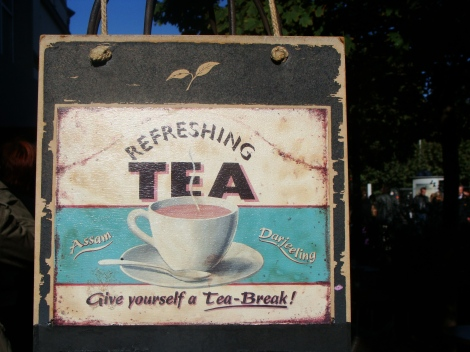 Time for tea break! Make it different.