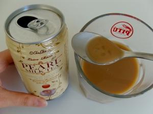 Taiwanese pearl milk tea better known as bubble tea
