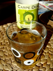 Fermented tea based drink called Kombucha