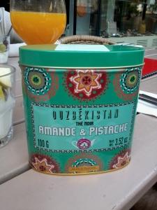 Hospitality tea from Uzbekistan