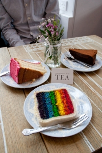 Today begins with tea... and cakes! Proper Tea in Manchester