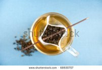 stock-photo-clear-glass-cup-of-loose-green-tea-in-paper-filter-bag-with-some-chocolate-sticks-68930707