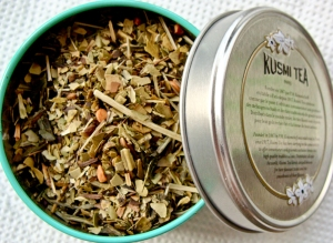 Kusmi Tea DETOX blend: green tea, mate and lemongrass