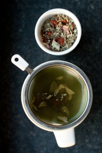 Sage herbal tea blend by Simon Levelt