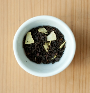 Black tea with coconut and pineapple by Simon Levelt