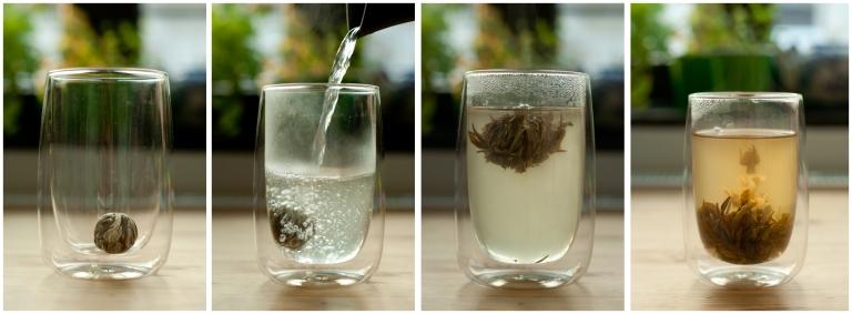 Japan blooming tea2