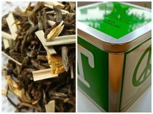 Swedish organic green tea with lemongrass