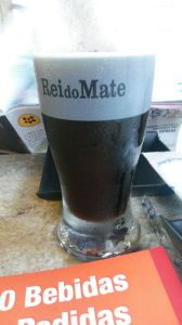 Traditional mate drink at Rei do Mate in Rio