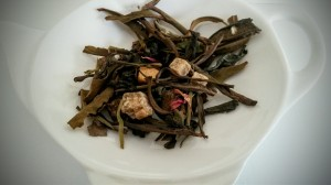 Flavored white tea by Gingerbread Tea Room (Brugges)