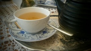 Spotted! Teestube (Haus Eulenspeigel) in Aachen serves white and other premium teas