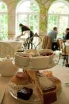 Afternoon tea in the Fan museum in London