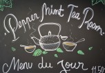 Peppermint tea house in Brussels