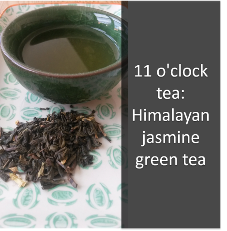 11 o'clock tea_Himalayan jasmine green tea