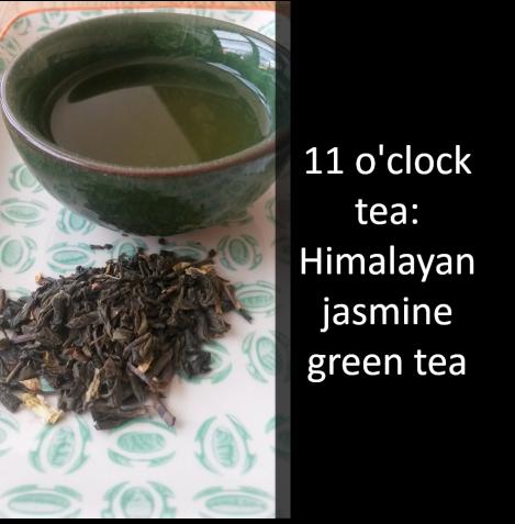 11 o'clock tea_Himalayan jasmine green tea