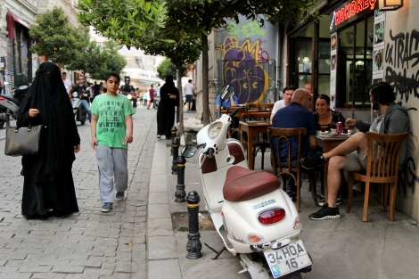 Turkish tea is part of social life