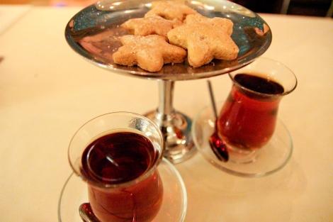 Turkish tea in Istanbul