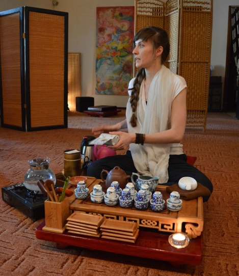 gong fu oolong tea ceremony