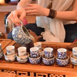 Chinese oolong tea ceremony in Vilnius