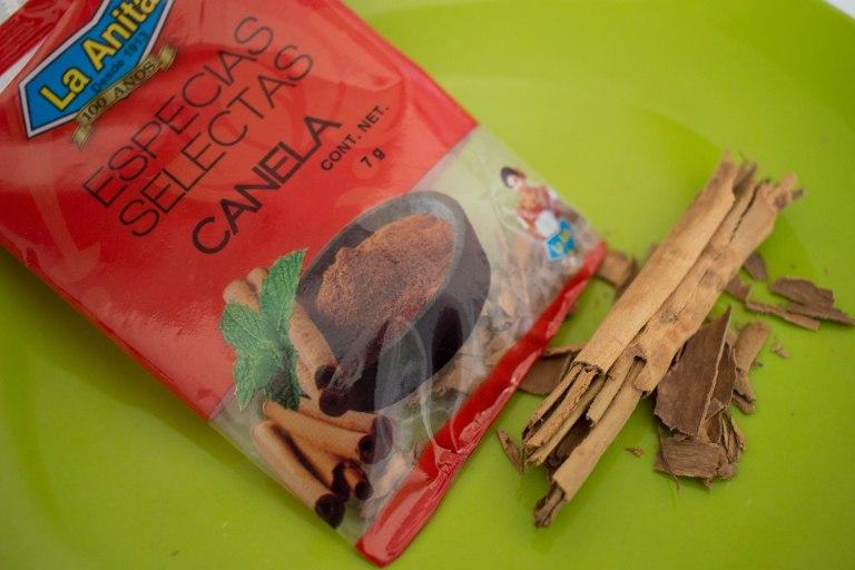 Cinnamon sticks bought in Mexico