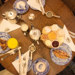 Afternoon tea time at the Original Maids of Honour in London